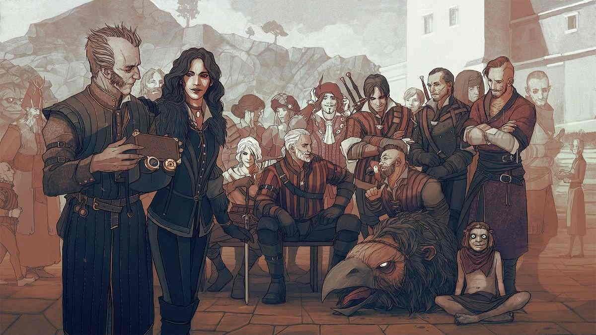 ведьмак персонажи
