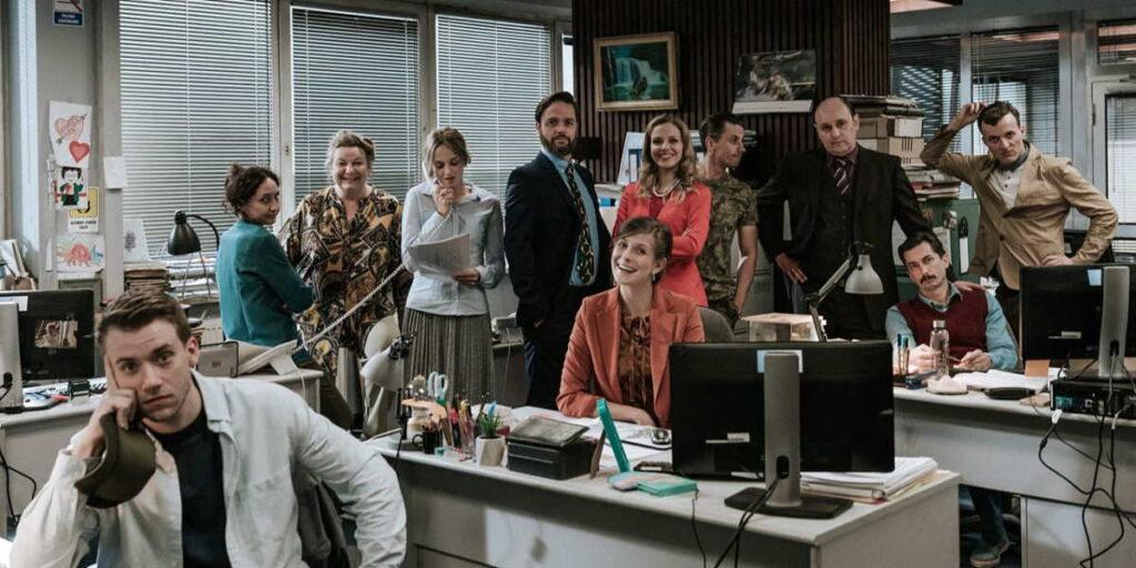 польский сериал офис